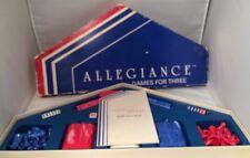 RARE Vtg Allegiance Games for Three/ Chess, Checkers & Backgammon 1984 Mataco