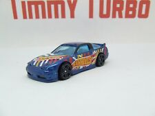 D NISSAN 180 SX Type X 1996 bleu HW Race Team Hot Wheels Comme neuf