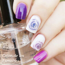 2 Sheets Rose Nail Art Manicure Water Decals Transfer Sticker Decoration