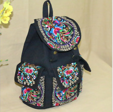 Genuine embroidered vintage tribal BOHO Backpack Handbag Day bag handmade