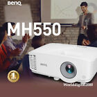 BENQ MH550 FHD 1928 1080 Business Projector Dual HDMI inputs 30 OSD Languages