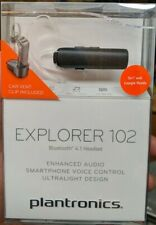 Plantronics Explorer 102 Bluetooth Wireless Mono in-Ear Headset - New!!! (CR)