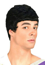 Black Julius Caesar Roman Mens Costume Wig