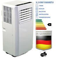 JUNG AIR TV05 mobiles Klimagerät Fernbedienung, 3,2KW Klimaanlage Klima mobil
