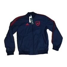 New NWT Arsenal Adidas Men's Zip Up Anthem Jacket Small