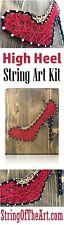 String of the Art Red High Heel Mini String Art Kit by Lawrence Ross Nib
