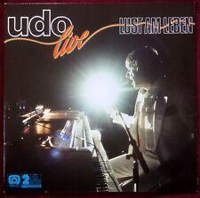 Udo Jürgens - Live - Lust Am Leben/ Ariola VINYL 2 LP set HörZu New York Medley!