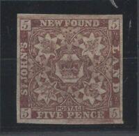 G129741/ NEWFOUNDLAND / CANADA / SG # 13 MINT MH – CV 180 $