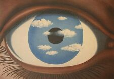 René Magritte, The false mirror 1928, Hand Signed Lithograph 83/200