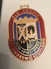 OLD COURSE St Andrew Scotland Logo GOLF BAG TAG Scottish Golf Memorabilia NEW