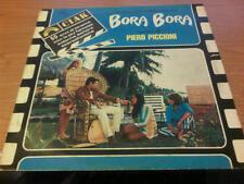 LP OST PIERO PICCIONI BORA BORA CINEVOX CIA 5040 VG/VG+  ITALY PS 1983 BXX