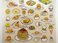 Gudetama stickers! Kawaii Japanese lazy egg planner stickers breakfast pancake