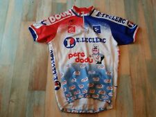MAILLOT  CYCLISTE NORET VC CHATEAULINOIS PERE DODU TAILLE S/2 TBE