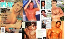 PLAYGIRL 4-01 KEITH URBAN NUDE! CELEBS FALCO TWINS! HUNKS APRIL 2001 BRIAN WHITE
