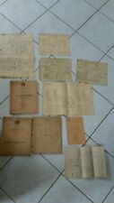 gros lot SNCF annees 40/50 manuels documents traction plans cheminot train