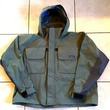 NWOT Patagonia SST Wading Fly Fishing Sailing Jacket Green XXL Hooded - NEW