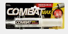 NEW!! Combat Max Roach Killer Syringe 2.1 oz Gel Formula Kills Nest Fast 51960
