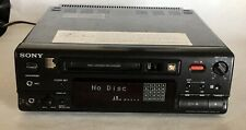 Sony Mds-101 MiniDisc Player & Recorder- Untested