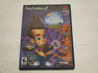 Jimmy Neutron Attack of the Twonkies Ps2 Game Disc , Case , & Manual Free Ship