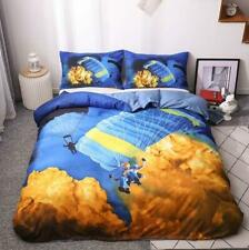 3D Extreme Sport Yellow Cloud KEP2017 Bed Pillowcases Quilt Duvet Cover Kay