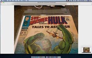 🔥Tales to Astonish: Submariner+Hulk #85 Appearance Krang and Hydra Age(1966)🔥