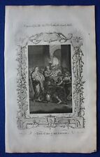 Original antique print THE CIRCUMCISION OF CHRIST, Dr. Southwell's Bible, 1774