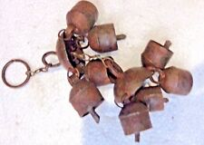 Antique Iron wind bell temple percussion instrument Self blown by Natural Air 8x