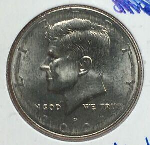 2001 Denver Kennedy Half Dollar WEAK STRIKE ERROR 50¢ #133