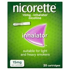 Nicorette Inhalator 15mg Inhalator Cartridge- 20 Cartridges - Quit Smoking