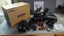 Canon XF200 High Definition Professional Camcorder Pristine Condition