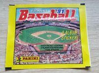 Panini 1 Tüte Baseball 1991 MLB 91 Bustina Pochette Packet Pack