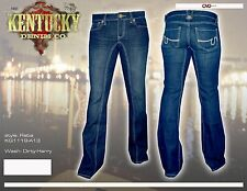 Kentucky Denim Women's Reba Flare Jeans NWT 30 x 34