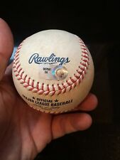 BRYCE HARPER GAME USED BALL FROM 9/20/2012 NATIONALS CLINCH PLAYOFF BERTH