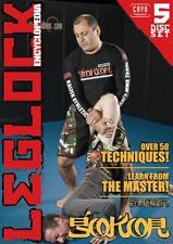 Leglock Encyclopedia 5 DVD Set by Gokor Chivivhyan BJJ Jiu-jitsu