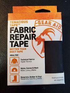 Gear Aid Tenacious Tape for Fabric Repair Black *C2