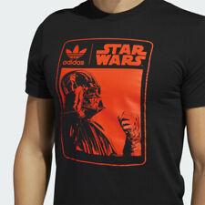 Adidas Star Wars Darth Vader Box Logo Men's Tee Black Red Gj2119