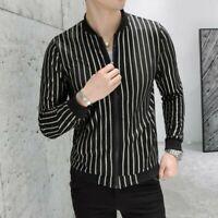 2019 Men Summer Coats Zipper Sum-proof Slim Fit Korean Casual Jacket Outwear New
