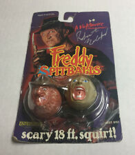 A NIGHTMARE ON ELM STREET FREDDY SPITBALLS, PACKAGE IS SIGNED BY ROBERT ENGLUND