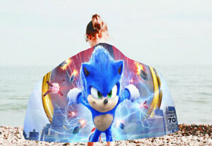 Sonic the Hedgehog Beach Towel Mat Great quality