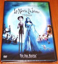 LA NOVIA CADAVER / CORPSE BRIDE Tim Burton DVD R2 - Precintada