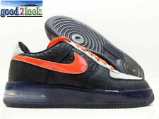 NIKE AIR FORCE 1 SUPREME MAX AIR NPCE QS BLACK/ORANGE SZ MEN'S 8.5 [625907-001]