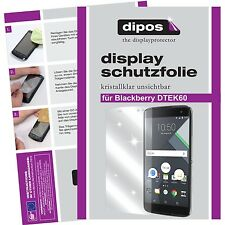 2x Blackberry DTEK60 Schutzfolie klar Displayschutzfolie Folie dipos