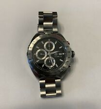 TAG HEUER FORMULA 1 CALIBRE 16 STAINLESS STEEL CHRONO AUTOMATIC WATCH CAZ2010