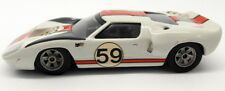 Unbranded 1/43 scale White Metal - 20MAR2018F Ford GT40 #59 Race Car