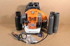 Used Husqvarna 967144301 360BT Handheld Gas Leaf Blower Vaccum 232MPH SDP536