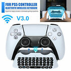 Mini Bluetooth Wireless Keyboard Chatpad GamePad For PS5 PlayStation5 Controller