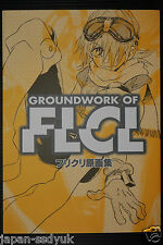 JAPAN Gainax: Groundwork Of FLCL / Furi Kuri Gengashuu (Book)