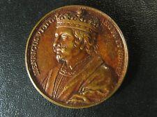 King Henry VI Jean Dassier medal 1730s 38mm 26.59g England