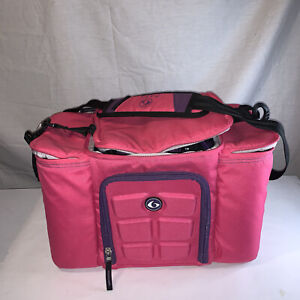 Pink 6 Six Pack Fitness Bag Innovator 300/500 Meal Prep Storage Gym Exercise