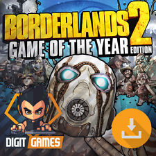 Borderlands 2 Game of the Year - Steam / PC Game - GOTY Edition